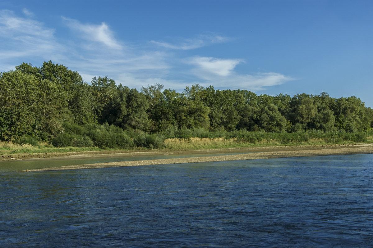 Река Кубань в сентябре - Игорь Сикорский