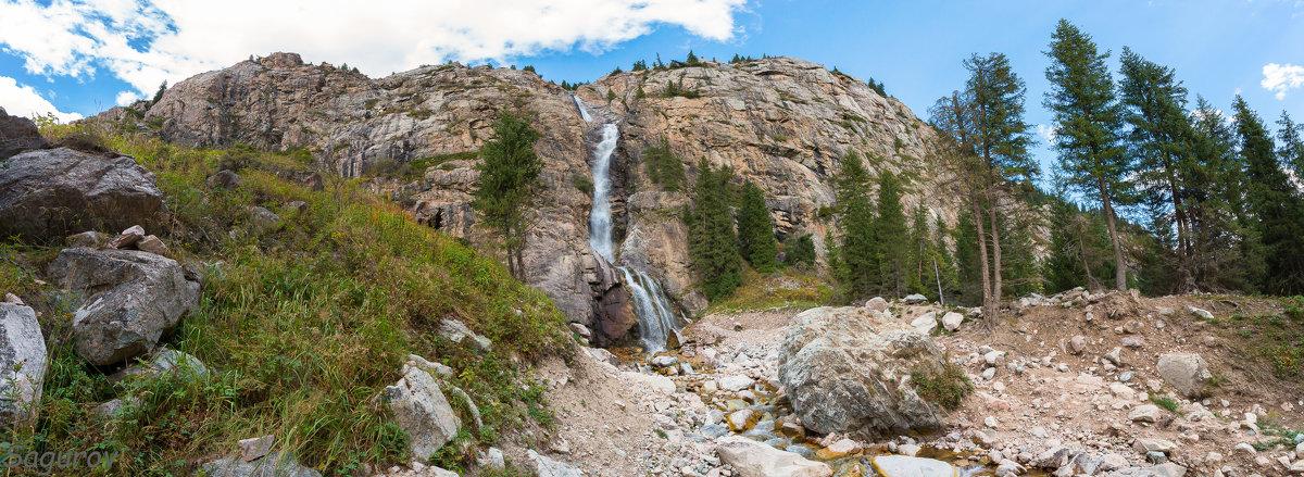 Водопад Бурхан Булак - Dmitriy Sagurov