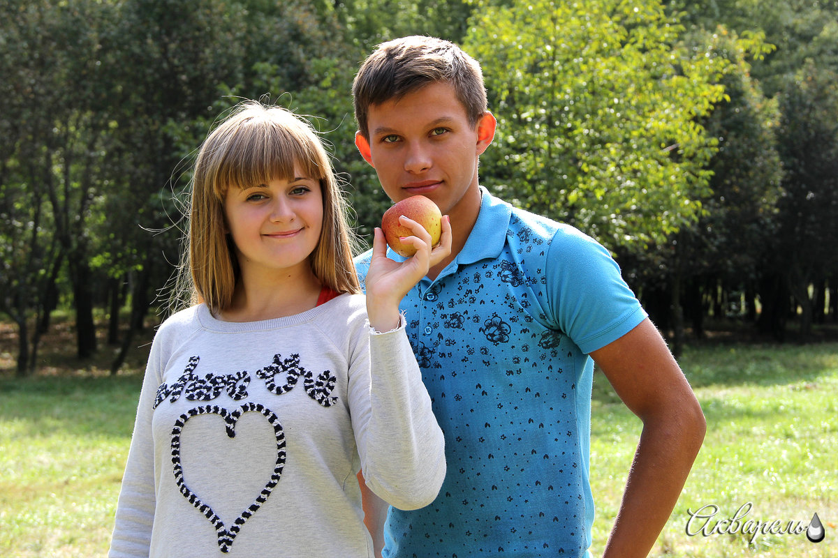 Яблочко хочешь? - Лилия Масло