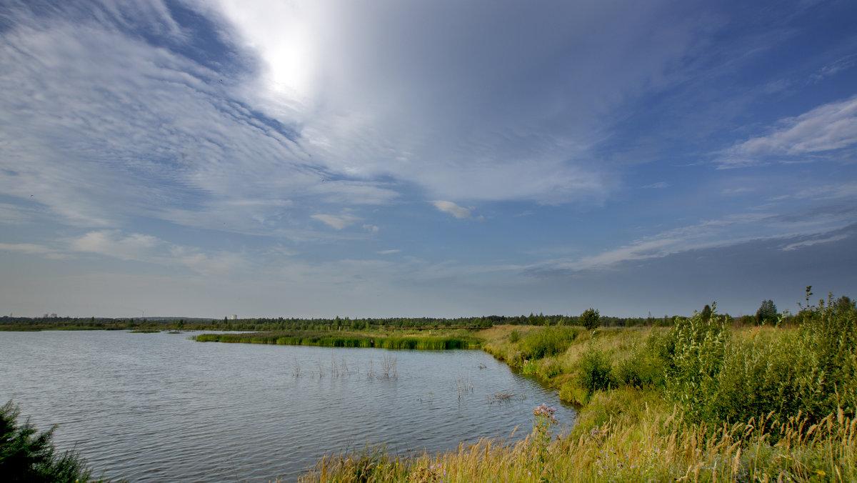 небо над прудом - gribushko грибушко Николай