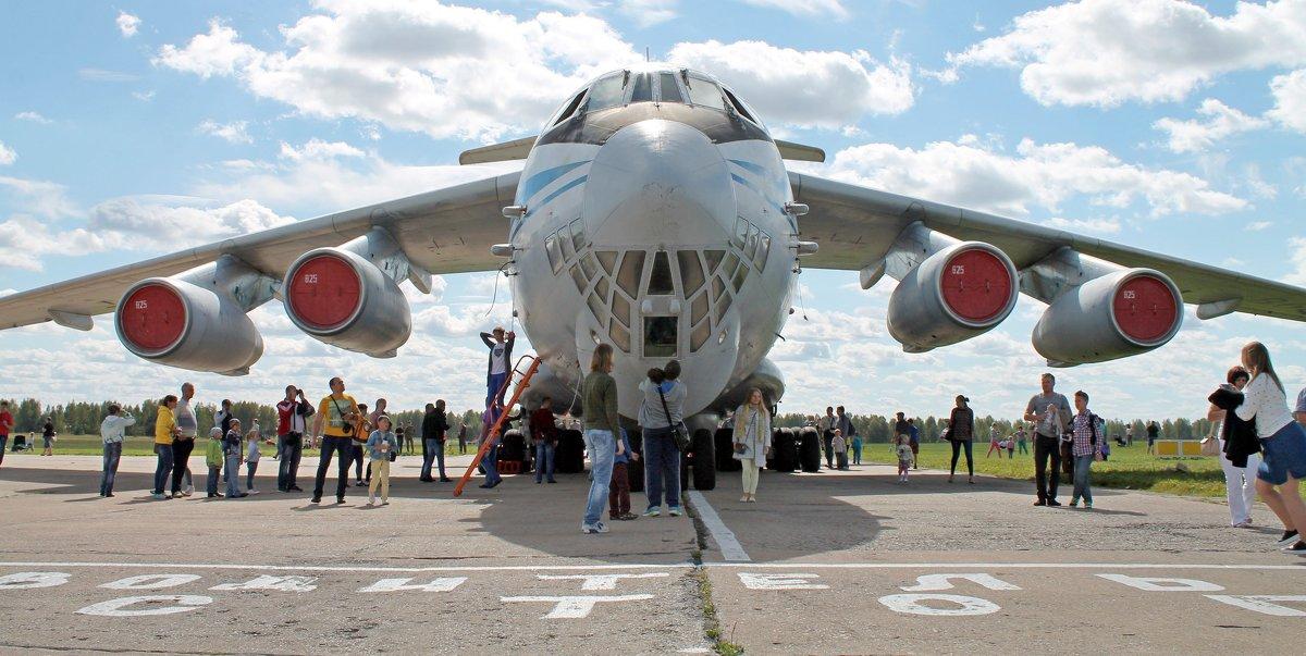 Самолет ИЛ-76М - Анастасия Яковлева