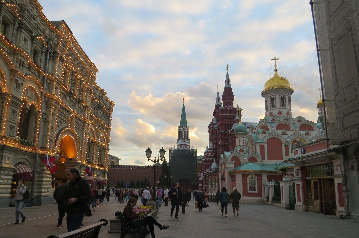 Москва - Вера Щукина