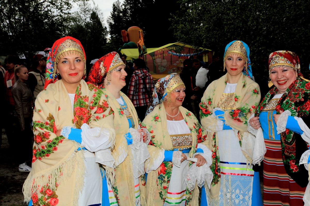 Гости праздника коренного населения - Виктор Шведин