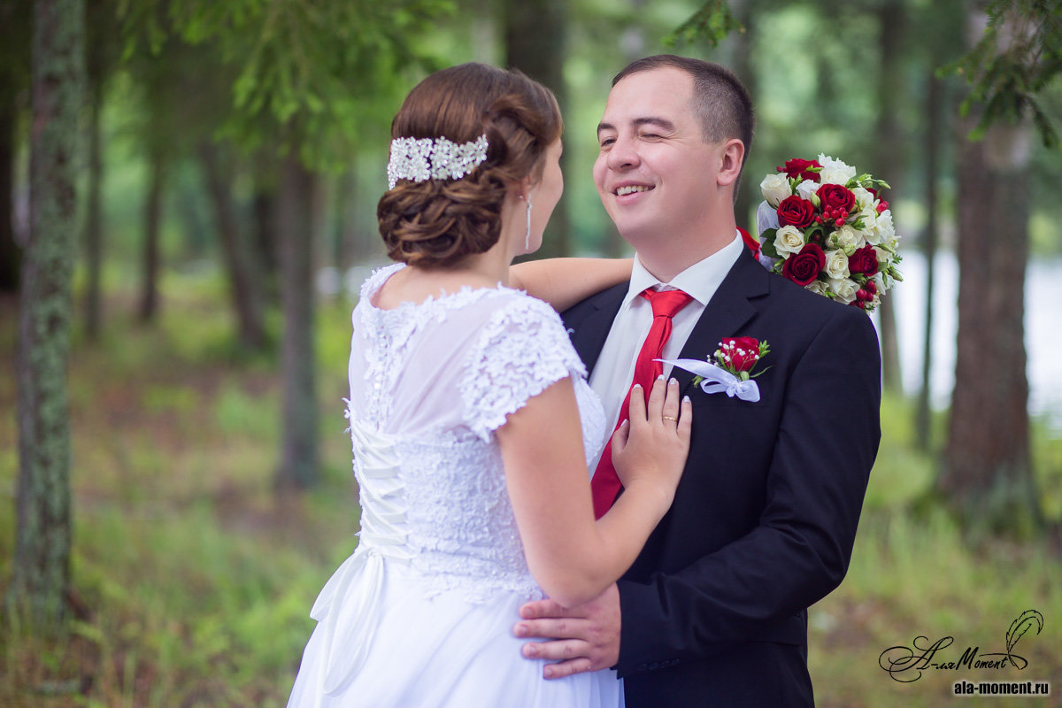 жених подмигнул невесте - Алена (Творческий псевдоним А-ля Moment)