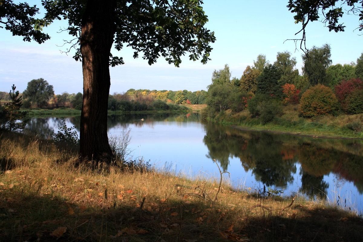 осенний вечер на реке - Андрей Дружинин