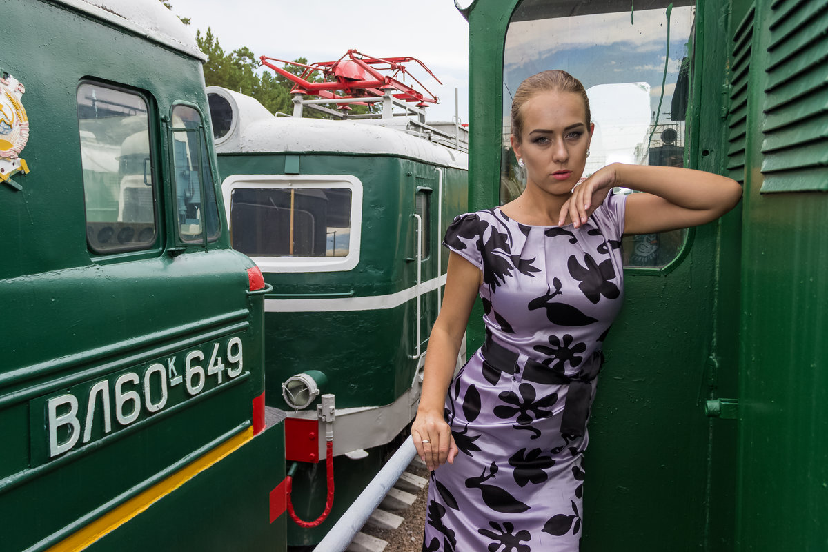 В компании локомотивов - Дима Пискунов