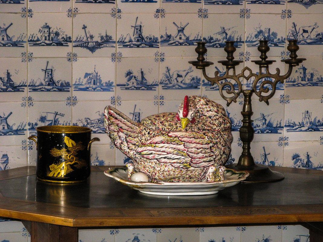 натюрморт  из голландского домика в  Кусково - Лариса *