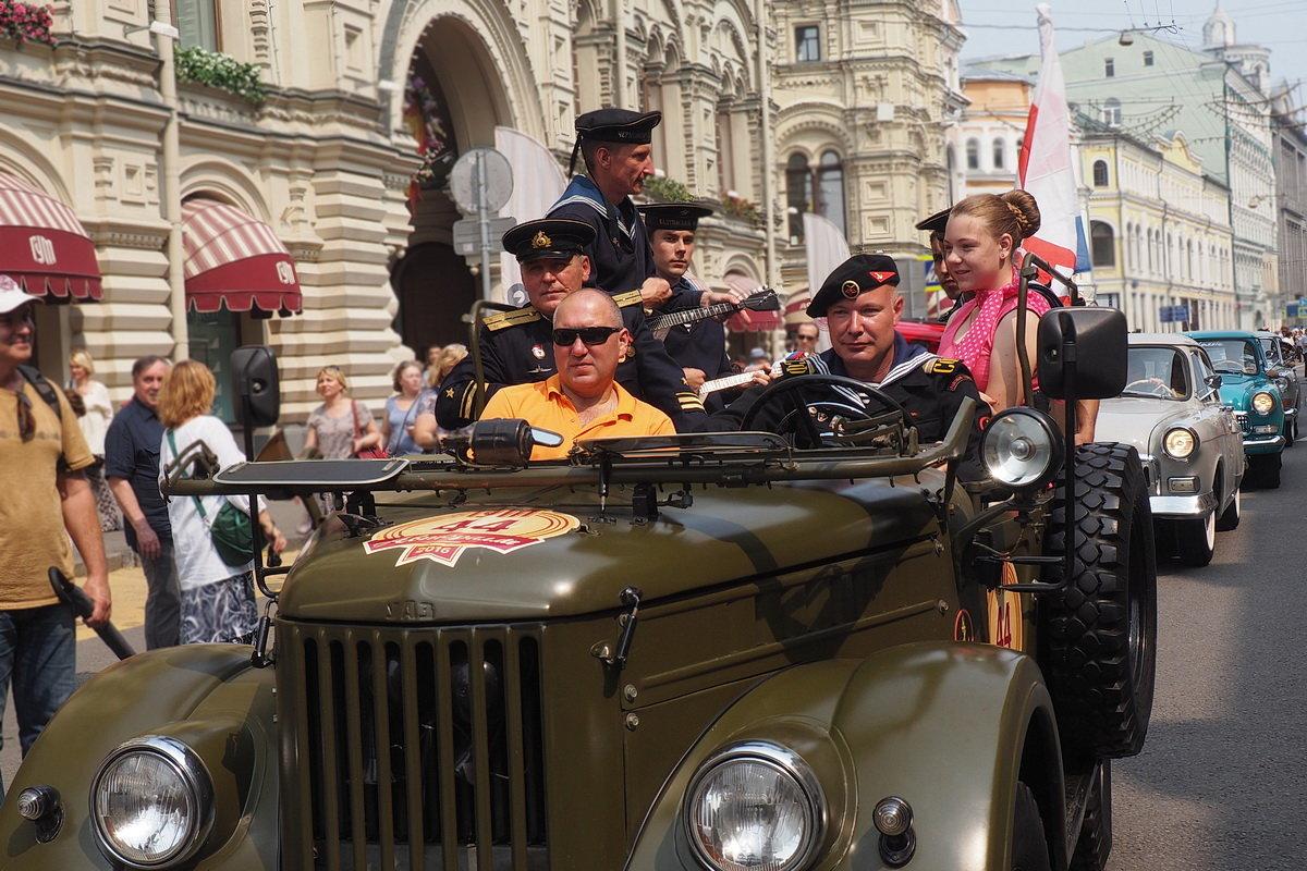 Авторалли ретро автомобилей в Москве.(5 фото) - Ира Егорова :)))