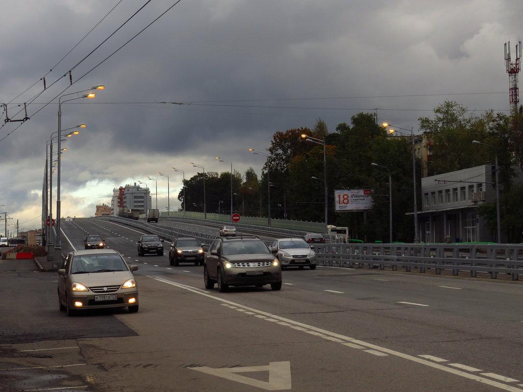 Эстакада у ст.м. Щелковская - Андрей Лукьянов