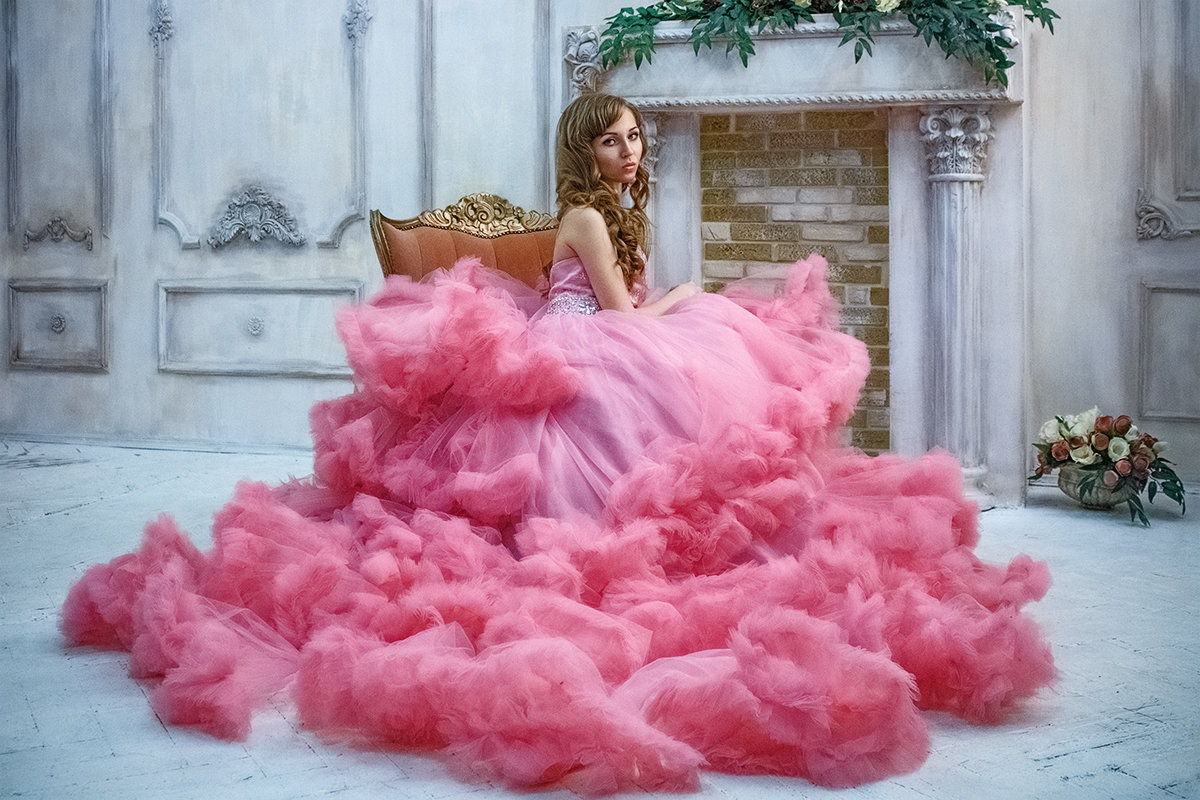 девушка в розовом - Елена Логачева