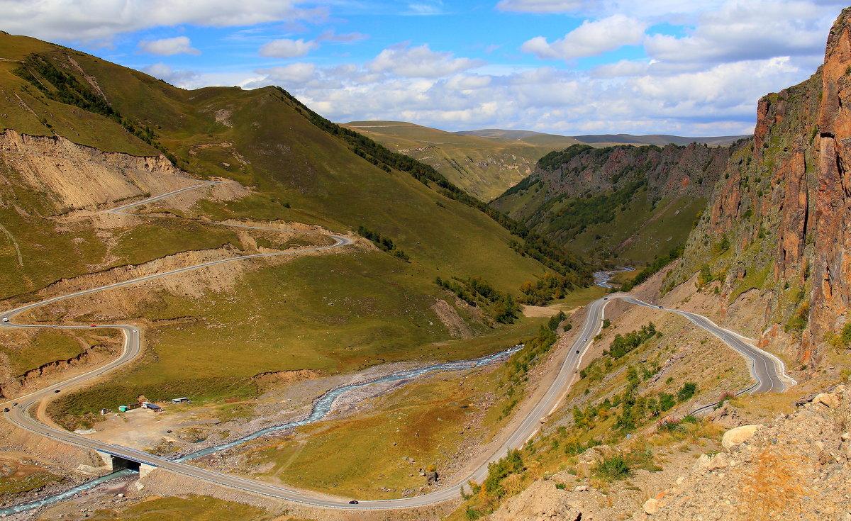 Дорога к Эльбрусу в урочище Джилы-Су - Vladimir 070549