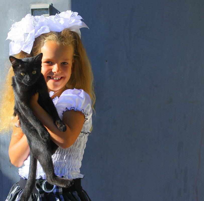 Говорят не повезет, если черный кот дорогу перейдет.... - Валентина ツ ღ✿ღ