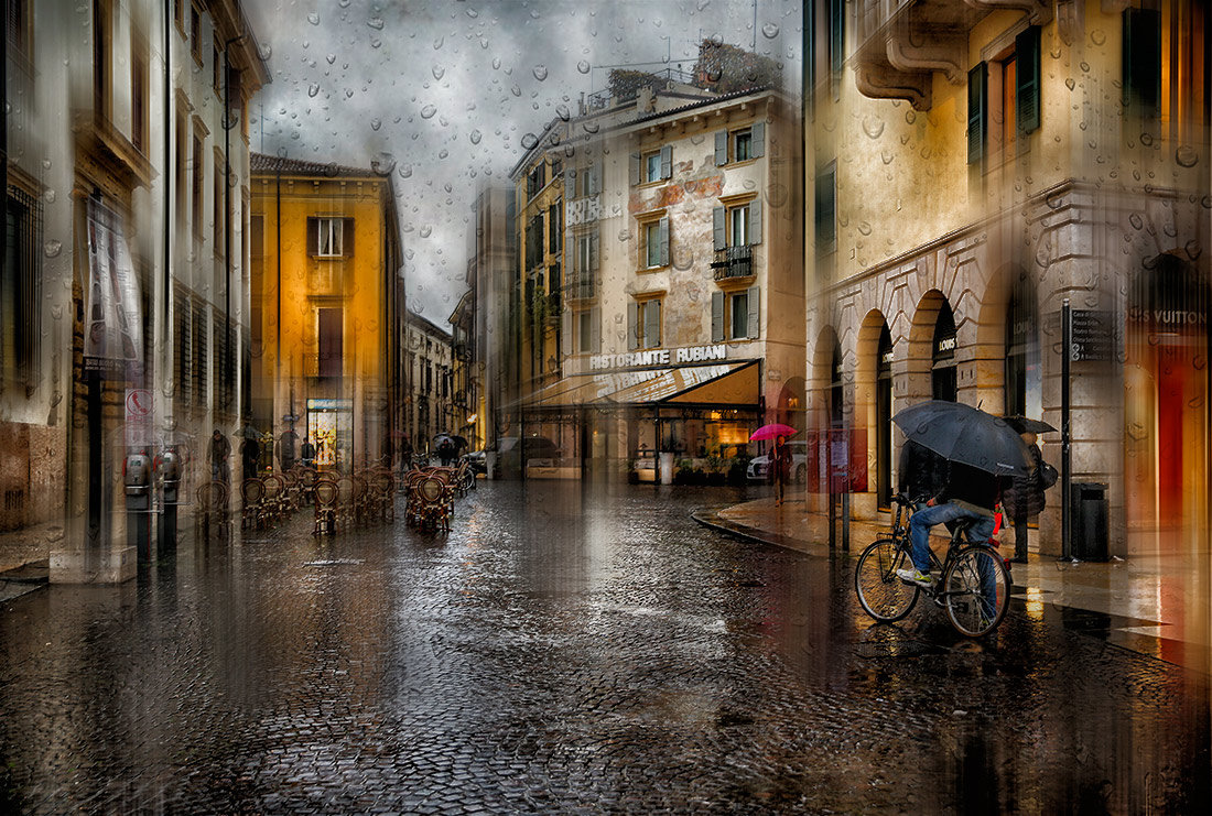 Дождь в Вероне - Анна Корсакова