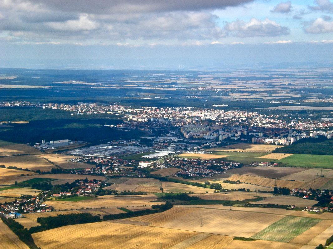 над Чехией - Елена