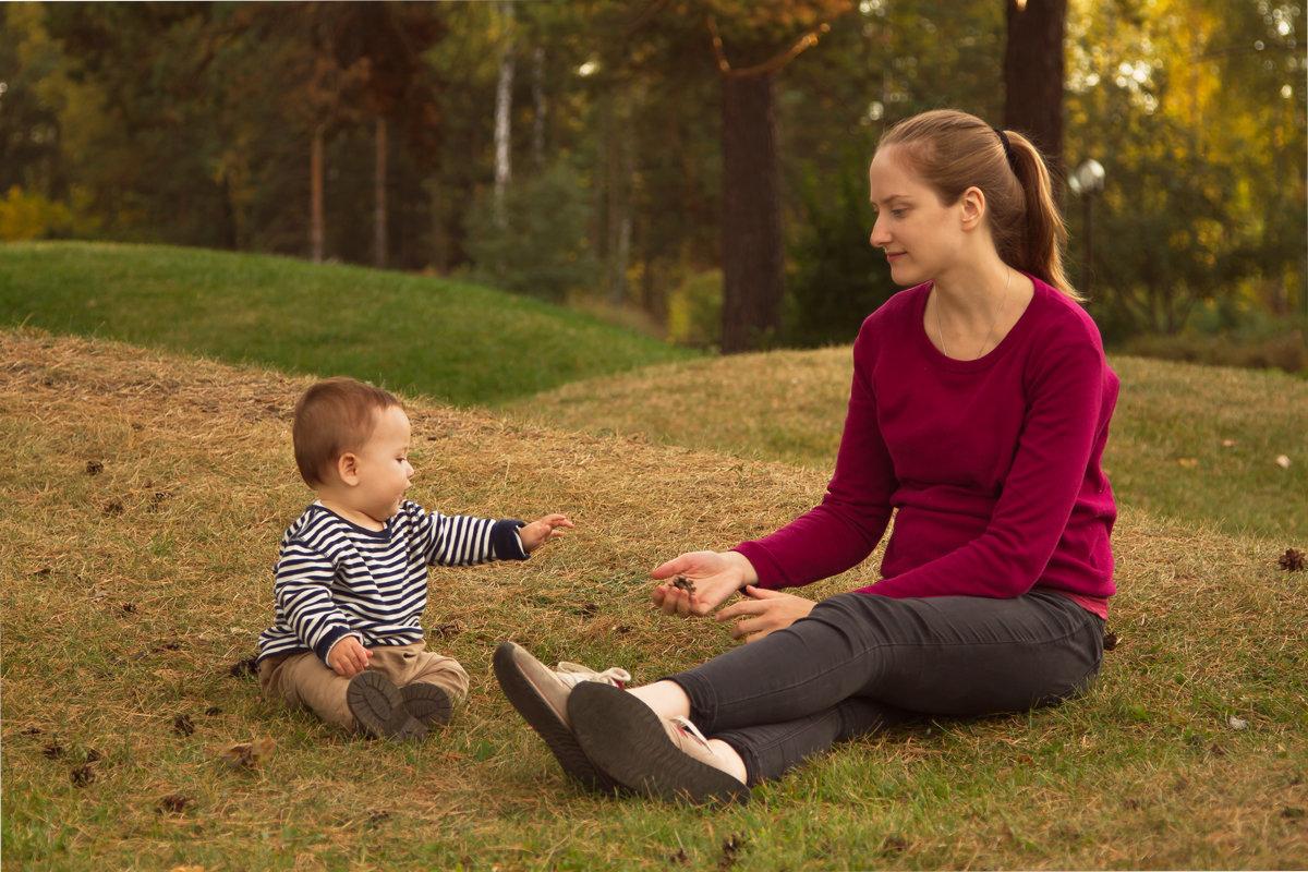 Даня с мамой - Ольга