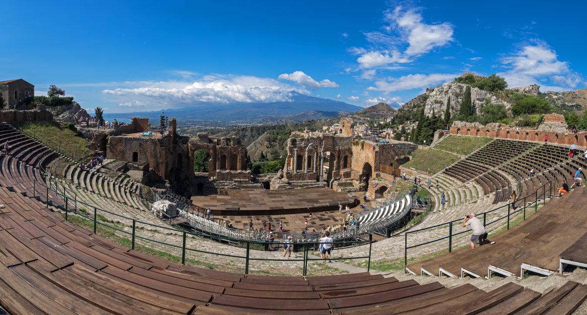 Театр с видом на вулкан.. - Виктор Льготин