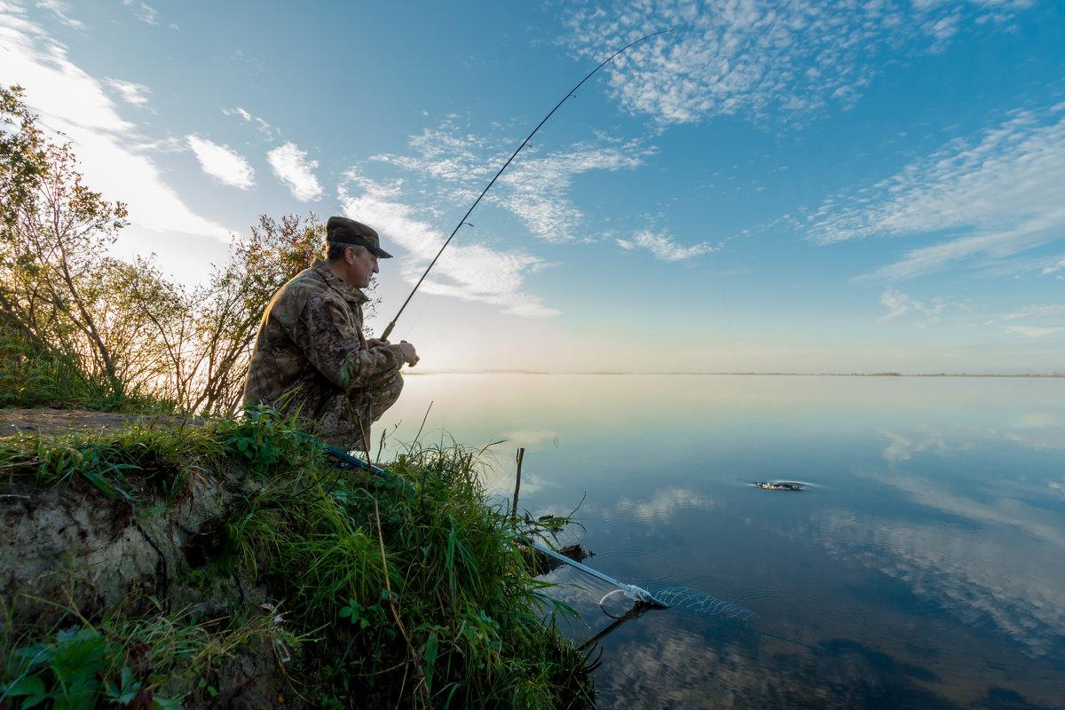 Портрет рыбака - Андрей Кузнецов