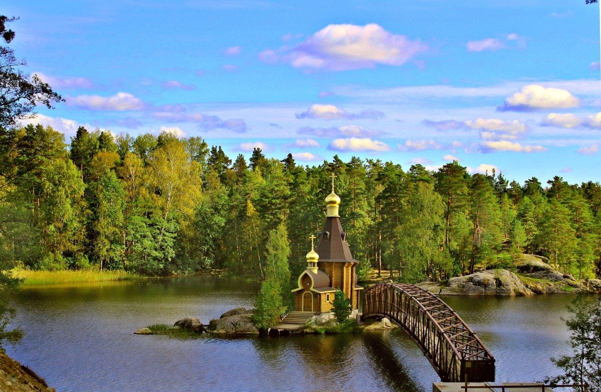 Церковь Андрея Первозванного на Вуоксе - Marina Pavlova