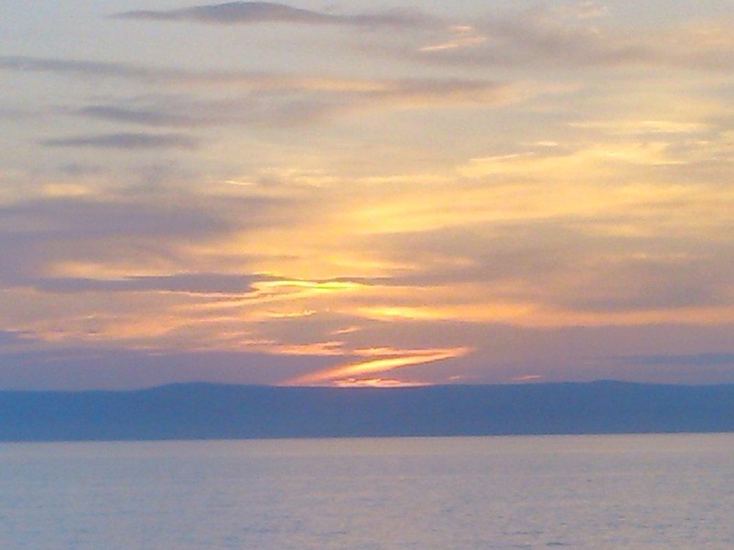 Вечер на озере - Евгения Ковалева