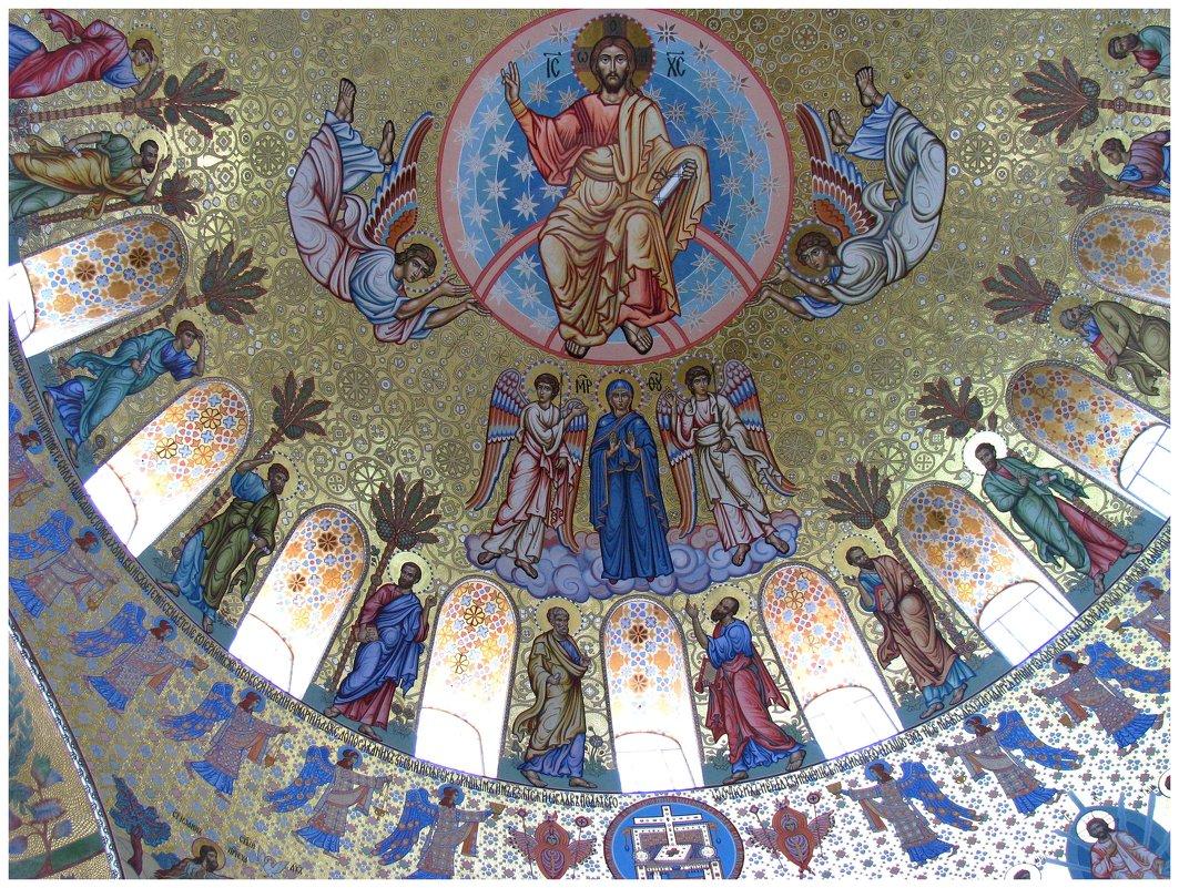 Плафон Морского собора в Кронштадте - Наталья