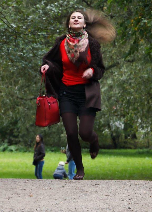 """Фотопроект :""""Street-casual"""" Модель Женя (бегом на фотосессию) - Алексей Корнеев"""