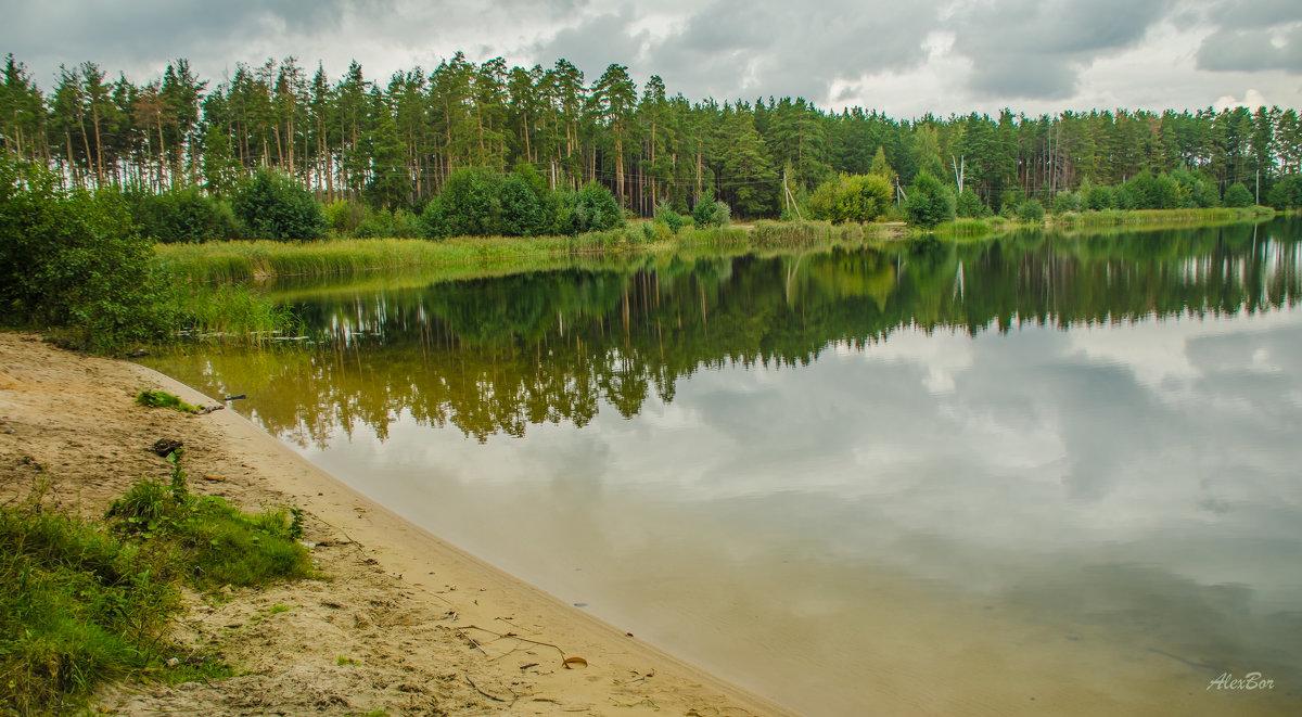 пустынный пляж... - Алексей Бортновский