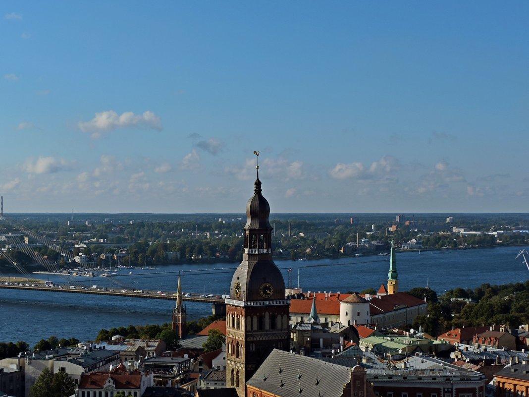 Виды Риги с башни церкви Святого Петра. - Аркадий