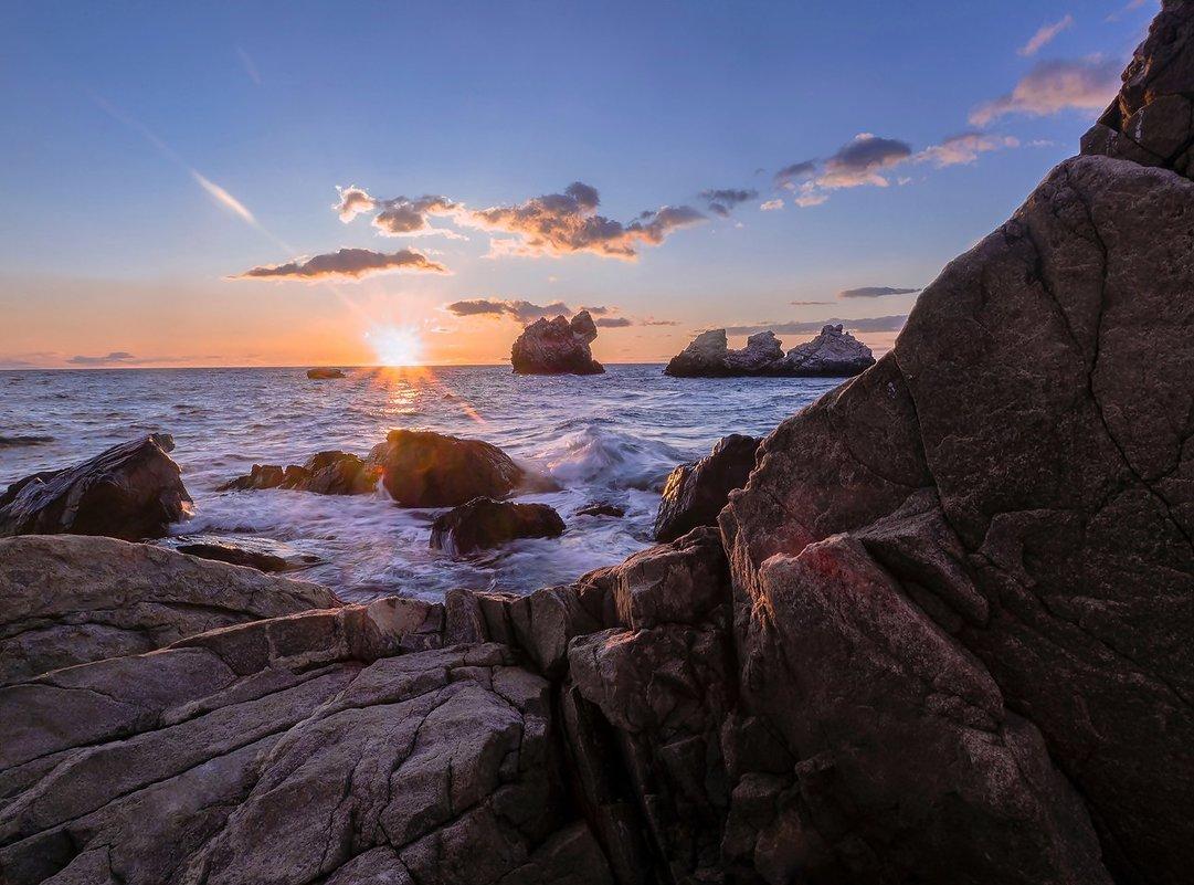 Рассвет на мысе Корасан. Черное море. - Zifa Dimitrieva