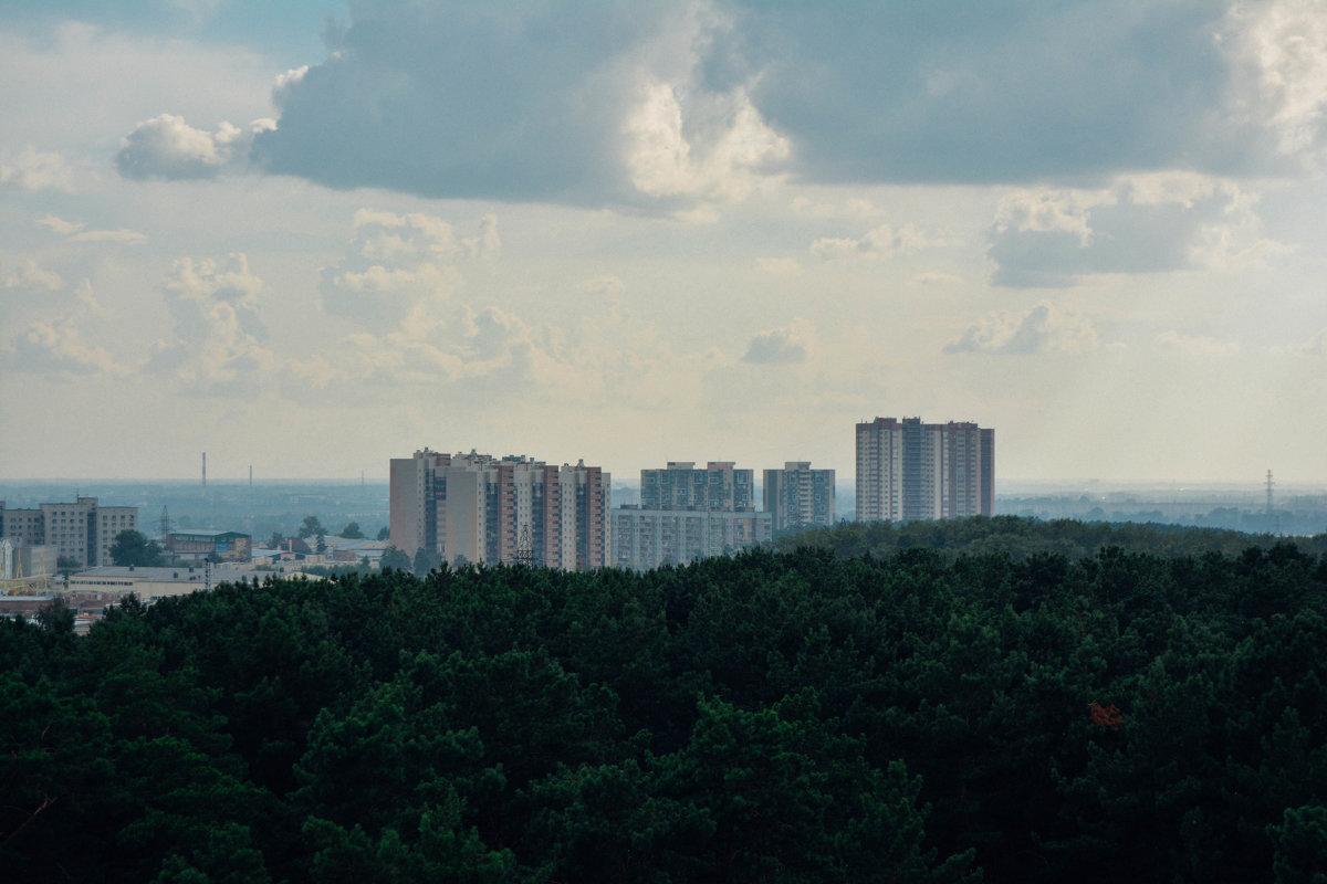 Город с высоты птичьего полёта - Света Кондрашова