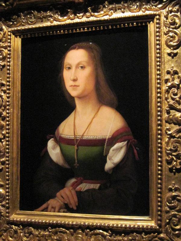 Рафаэль. Женский портрет (немая).1507 г. - Маера Урусова