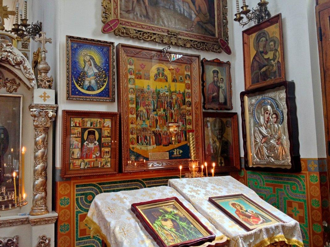 Церковь всех Крымских святых и ФЕОДОРА СТРАТИЛАТА. - Tata Wolf