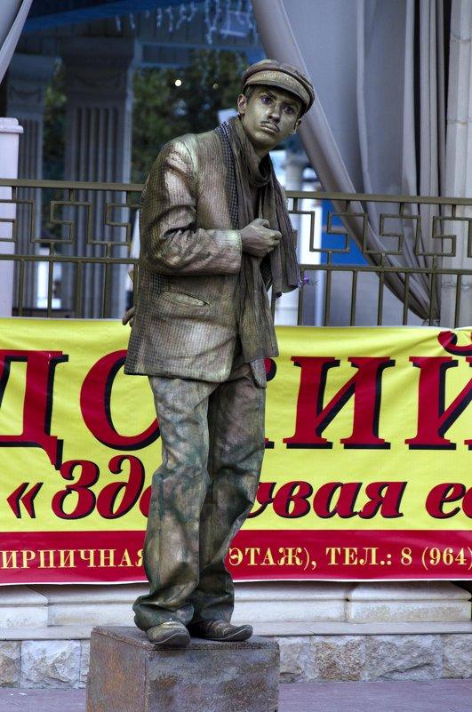 Живая статуя - Галина