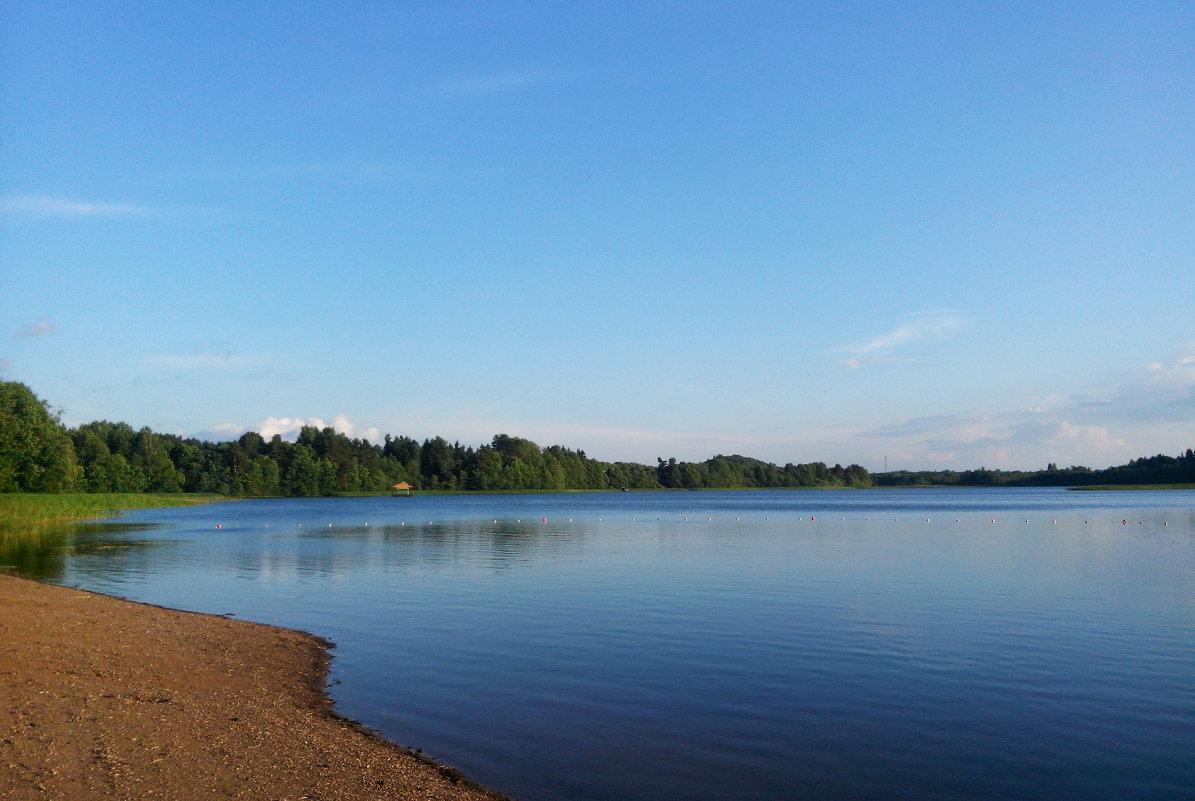Озеро в Маево - Ольга Мореходова