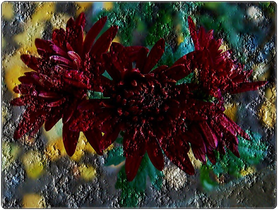 Хризантемы - Нина Корешкова