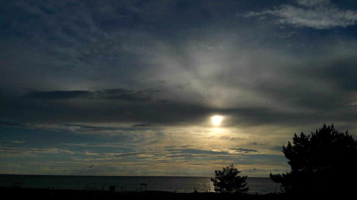 Красивый пляж вечером на Финском заливе - Ольга Мореходова