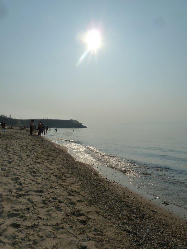 Сарайский пляж - Галина
