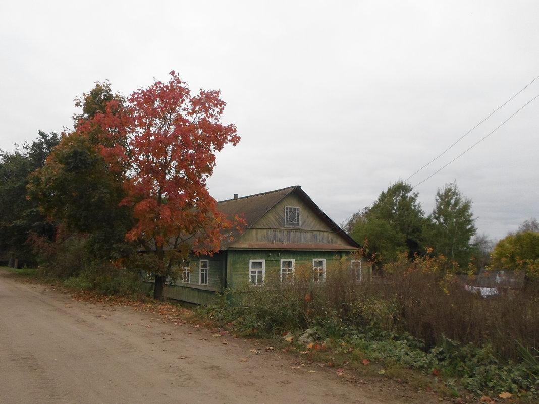 Осень в деревне - BoxerMak Mak