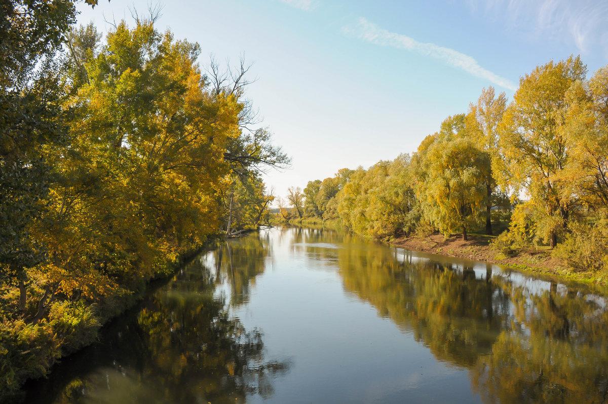 Золотая осень на реке Деме - Сергей Тагиров
