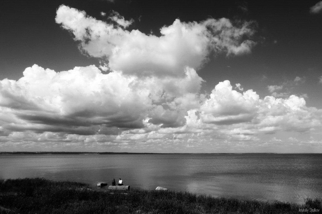 Огромное небо, одно на Двоих - Анатолий Шулков