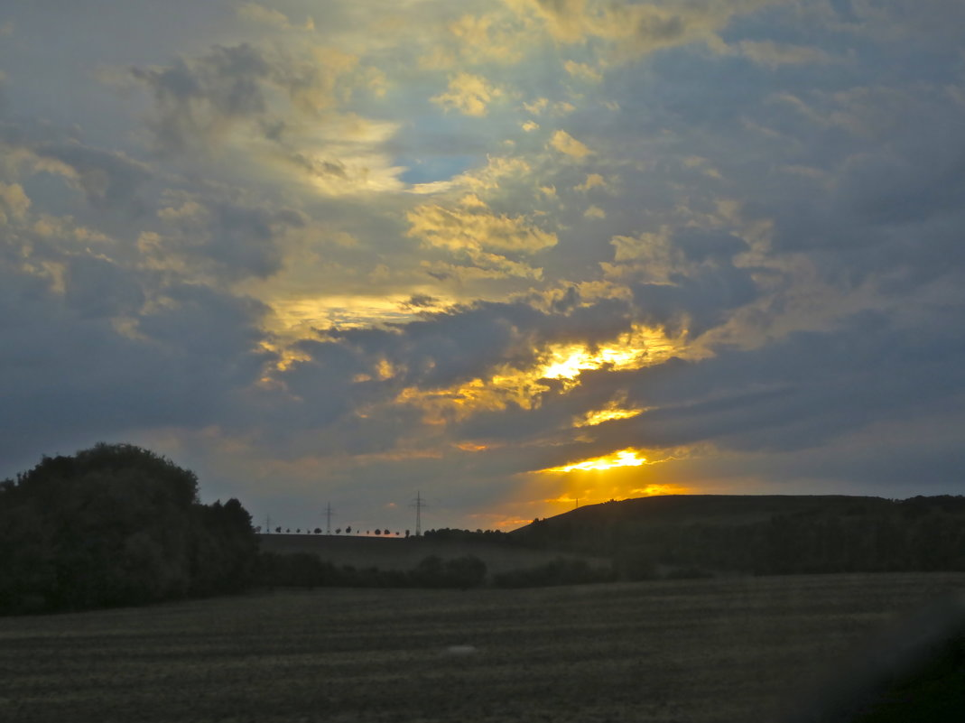 по вечерним дорогам Чехии - Елена