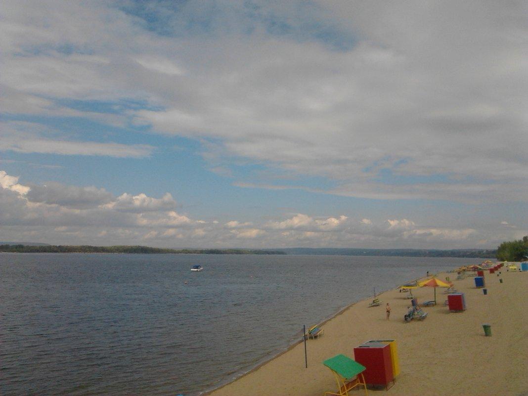 Осенний пляж... - марина ковшова