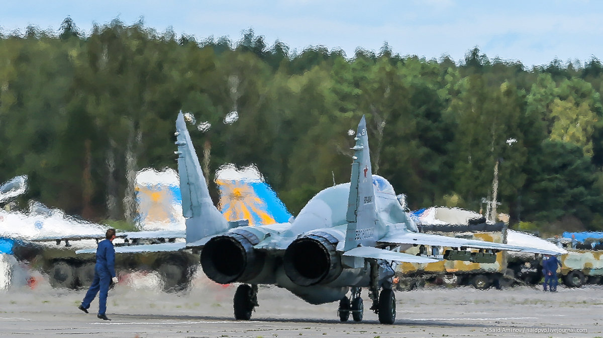 Жаркие дни форума Армия-2016 - Саид Аминов