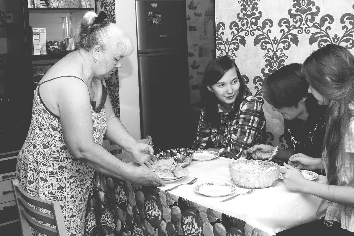 У бабушки.... - Галина Данильчева