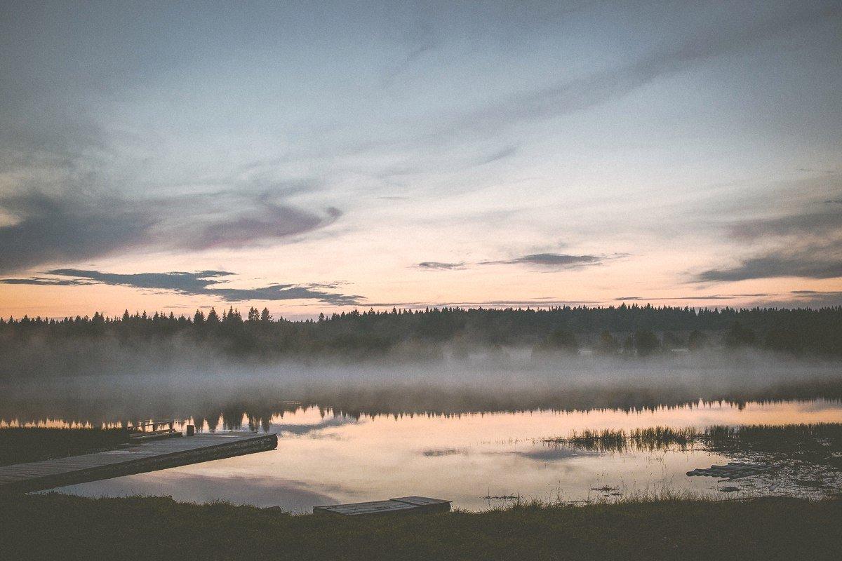 Туманное озеро - Сергей Смирнов