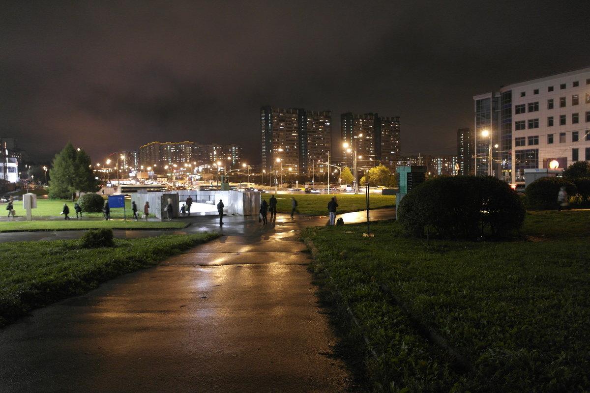 Ночь. Дождь. - Sasha Berg