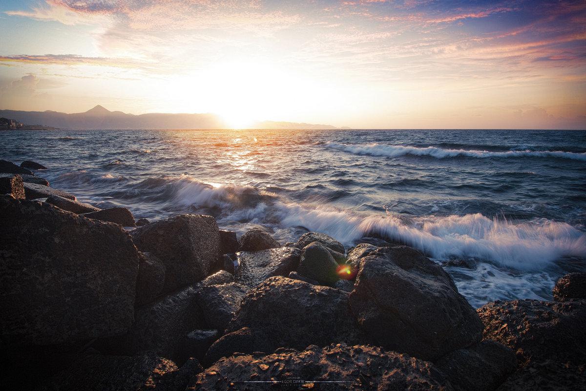 Закат над морем - Егор Дáкже