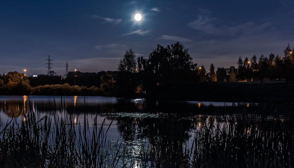 Вечером синим, вечером лунным... - Владимир Безбородов