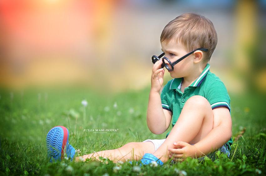 Яркий, солнечный день ушедшего лета. - Юлия Масликова