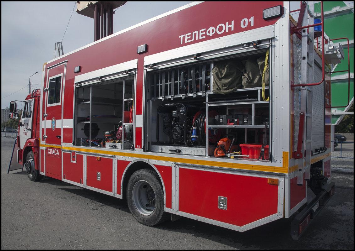 Пожарная техника - Алексей Патлах