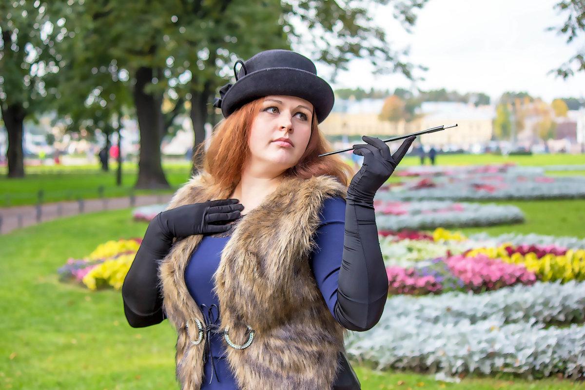 Дама с сигаретой-2 - Александр Лейкум